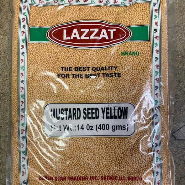 Mustard Seeds Yellow 14oz - Lazzat