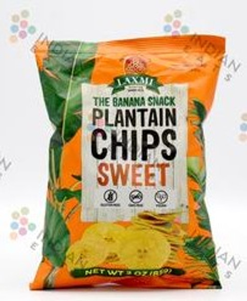 Laxmi Plantain Chips Sweet 340g