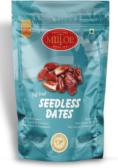 Miltop Dates Seedless 500g