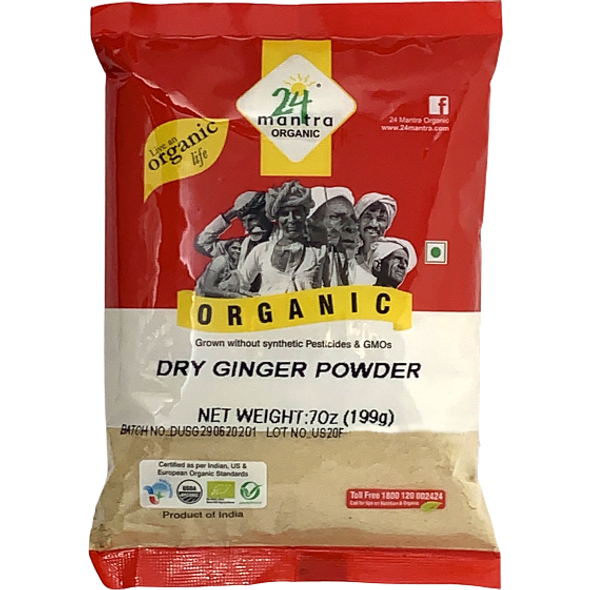 Ginger Powder 7oz - 24 Mantra