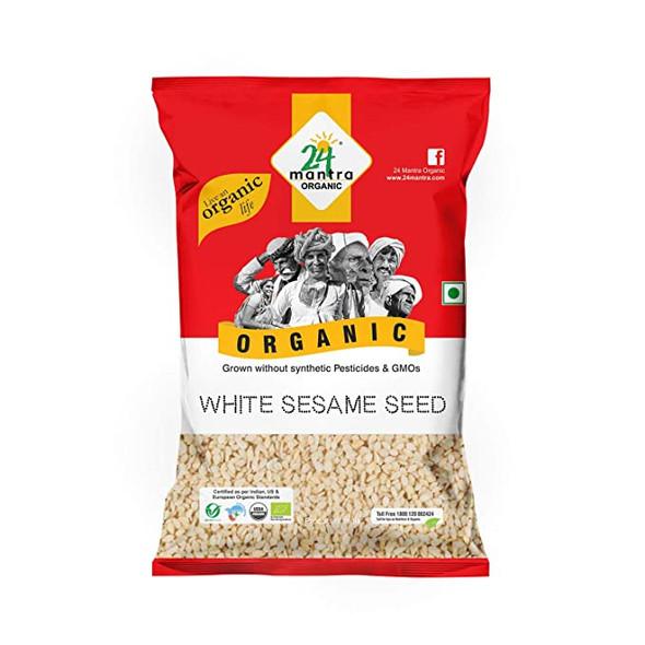 Sesame Seeds White 7oz - 24 Mantra