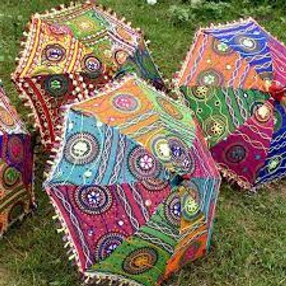 "24"" Rajasthani Umbrella (Decorative)"