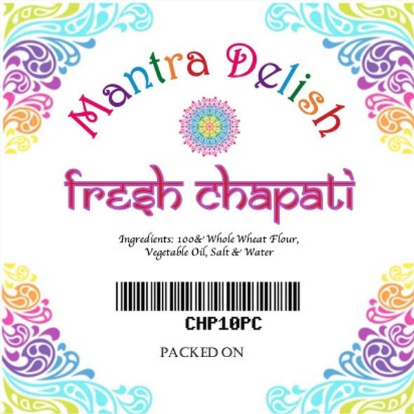 Mantra Fresh Chapati 10pc