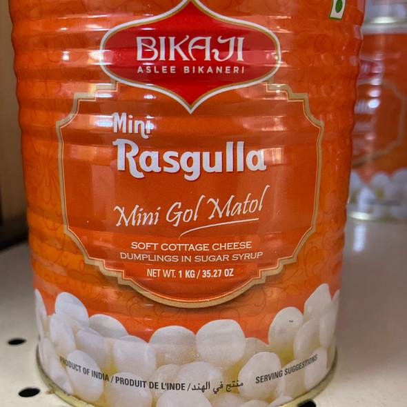 Bikaji Mini Rassgulla 1kg