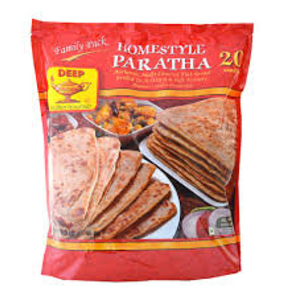 Deep Frz Home style Paratha 20pc (Family pack)