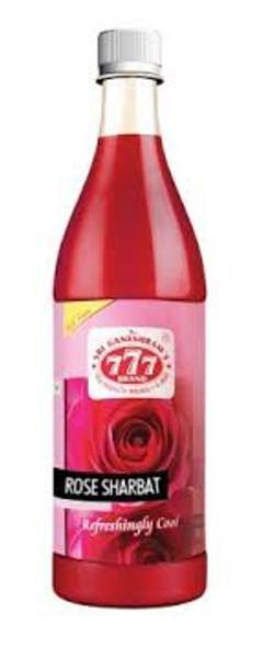 777 Rose Sharbat 750ml