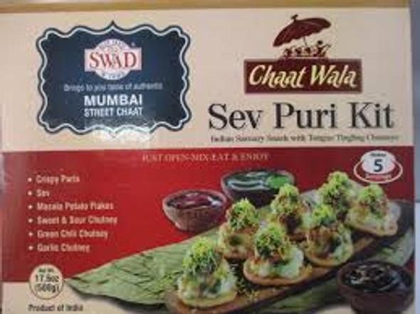Swad Sev Puri Kit 400g