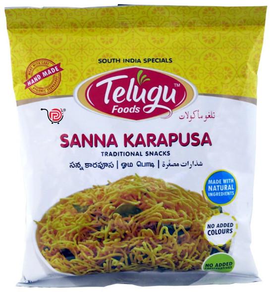 Telugu Snacks - Sanna Karapusa 170g