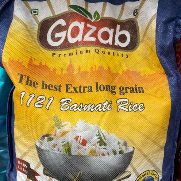 Gazab Premium Extra Long Basmati 10lb