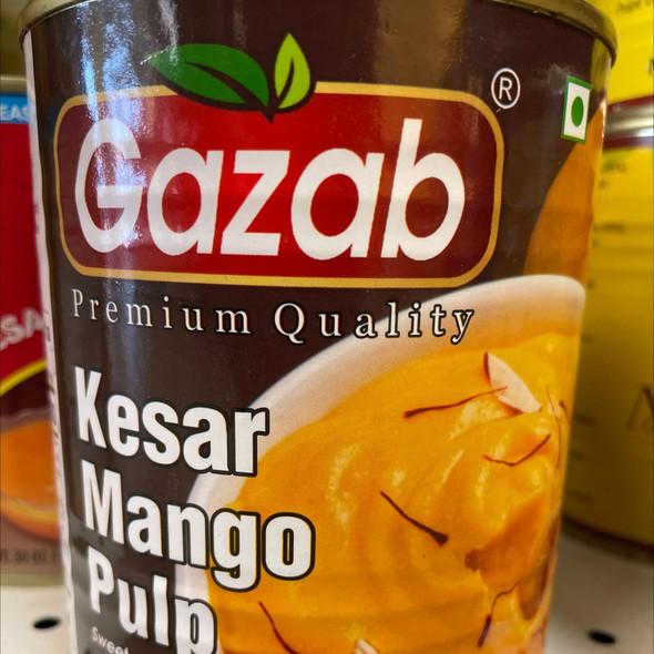 Gazab Mango Pulp 850g