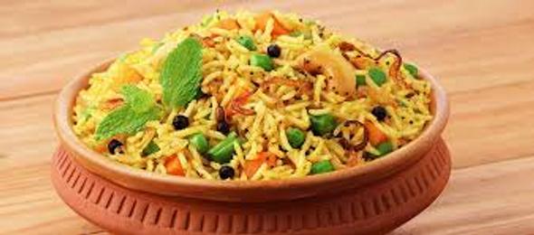 Mantra Delish Vegetable Dum Biryani