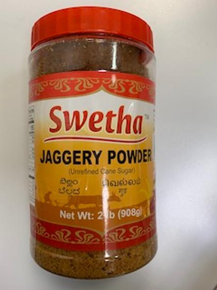 Swetha Jaggery Powder 2lb (Pet Jar)