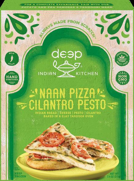 Deep Frz Cilantro Pesto Naan Pizza