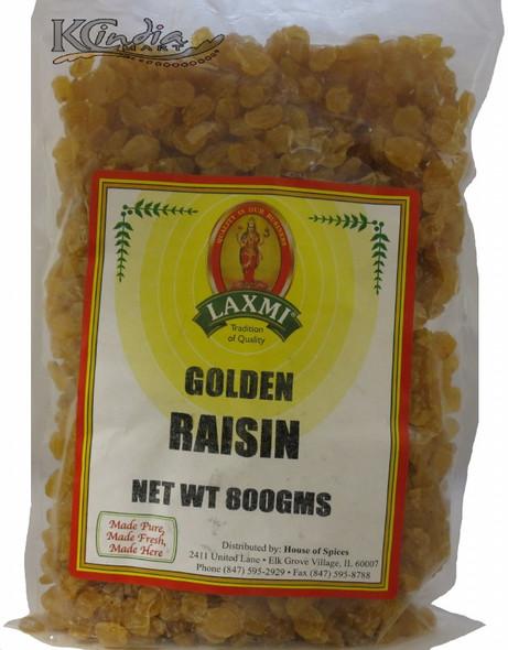Laxmi Golden Raisins 800g