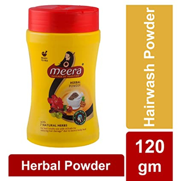 Meera Hair Wash Powder 120g