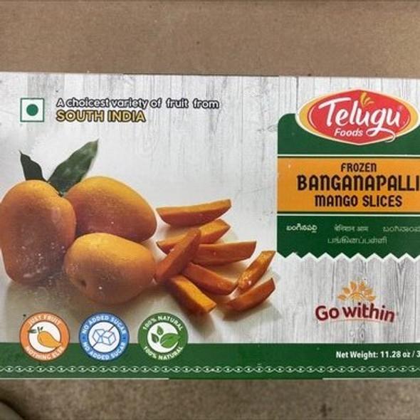 Telugu Frz Banganapalli Mango Slices 320g