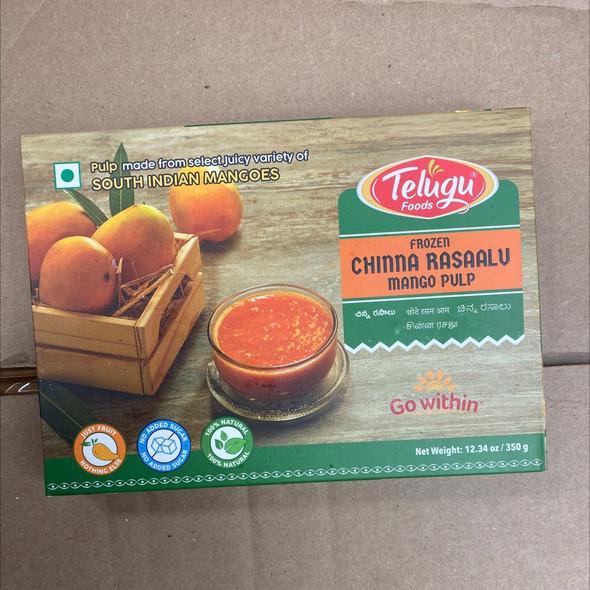 Telugu Frz Chinna Rasalu Mango Pulp 350g
