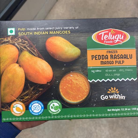 Telugu Frz Pedda Rasalu Mango Pulp 350g