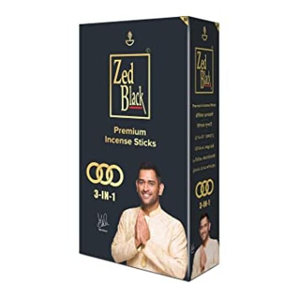 ZED Black 3 in 1 Incense Sticks (6 Pack)