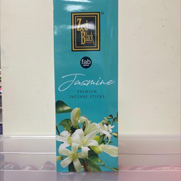 ZED Black Jasmine Incense (6 Pack)
