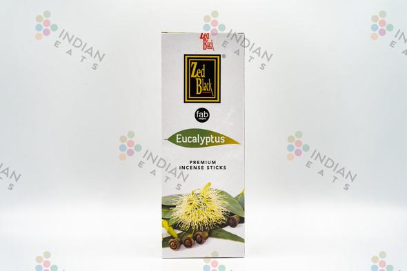 ZED Black Eucalyptus Incense (6 Pack)
