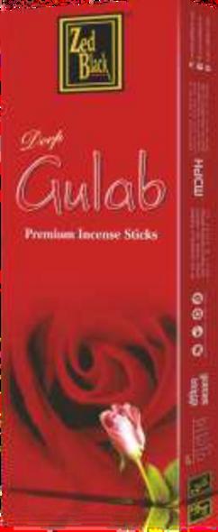 ZED Black Red Rose Incense Sticks (6 Pack)