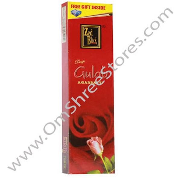 ZED Black Red Rose Incense Sticks (20 ct)