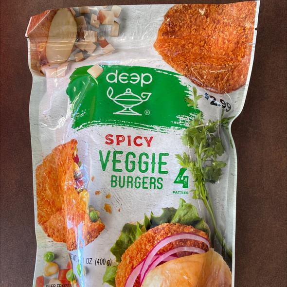Deep Frz Spicy Veggie Burger 4 pc