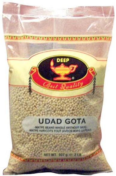 Deep Urad Gota 2lb (Whole White)