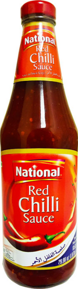 National Red Chilli Sauce 850g