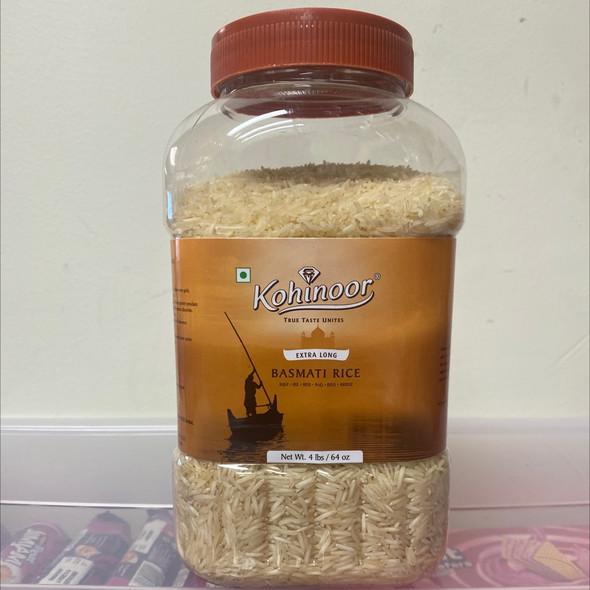 Kohinoor Basmati Gold Ex Long 4lb (Jar)