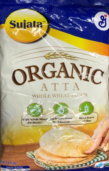 Sujata Organic Chakki Atta 10lb