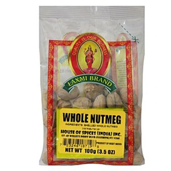 Nutmeg Whole 7oz - Laxmi