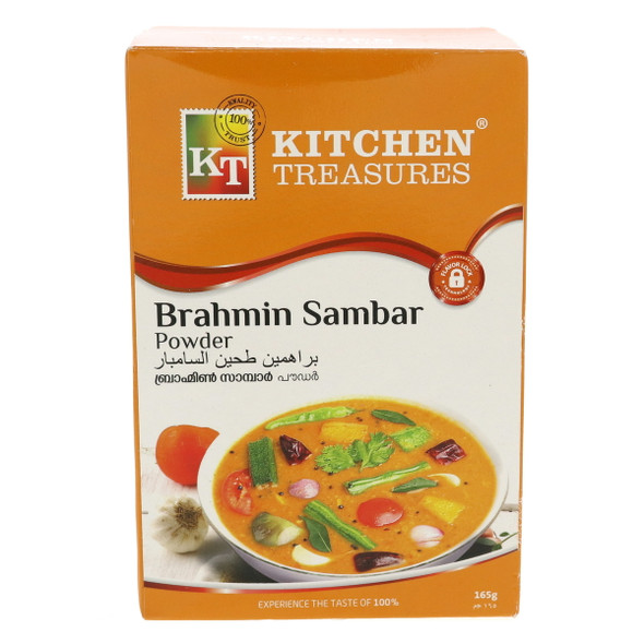 Kitchen Treasures Brahmins Sambar Powder 165g