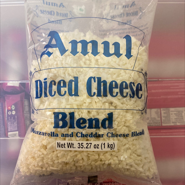Amul Cheese Blend Diced 2.2lb