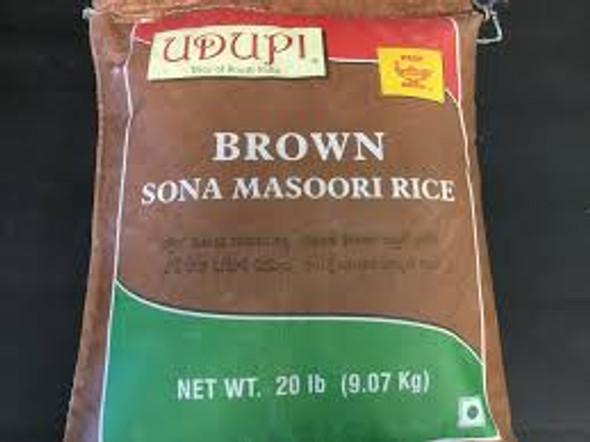 Udupi Brown Sona Masoori 20lb