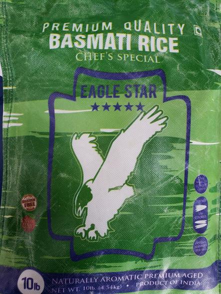 Eagle Star Chef's Special Basmati Rice 10lb