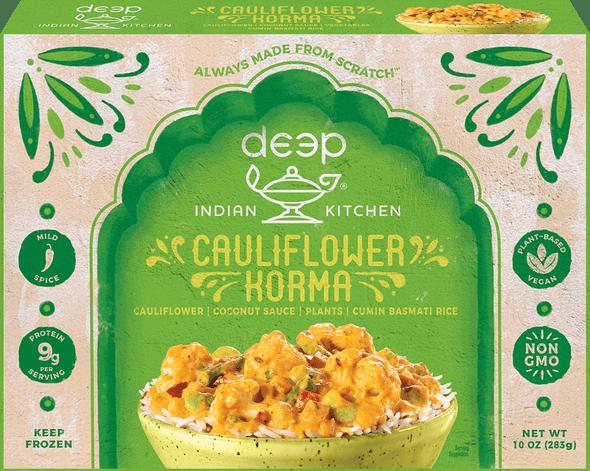 Deep Frz Cauliflower Korma w Cumin Rice