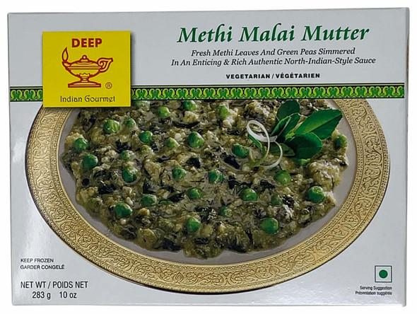 Deep Frz Methi Malai Mutter 10oz