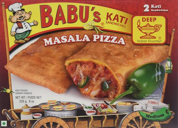Babu's Frz Masala Pizza Kati Pockets