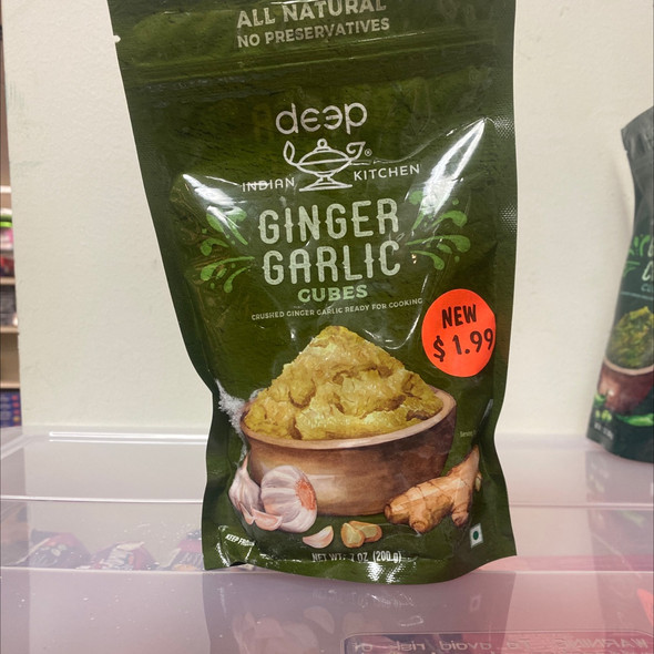 Deep Frz Ginger Garlic Cubes 7oz
