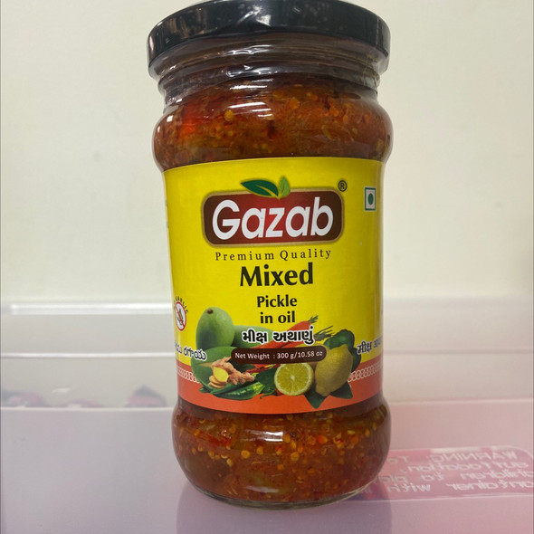Gazab Pickle - Mixed 300g