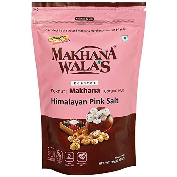 Makhana Wala's Him Pink Salt Makhana 60g
