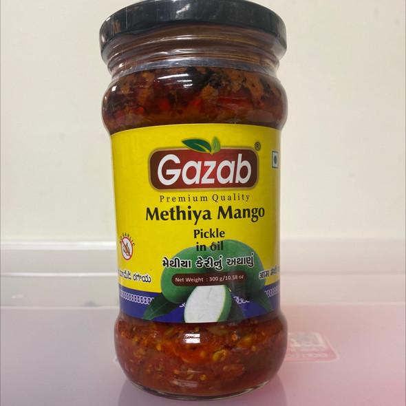 Gazab Pickle - Methia Mango 300g