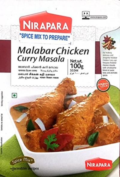 Nirapara Malabar Chicken Masala 100g