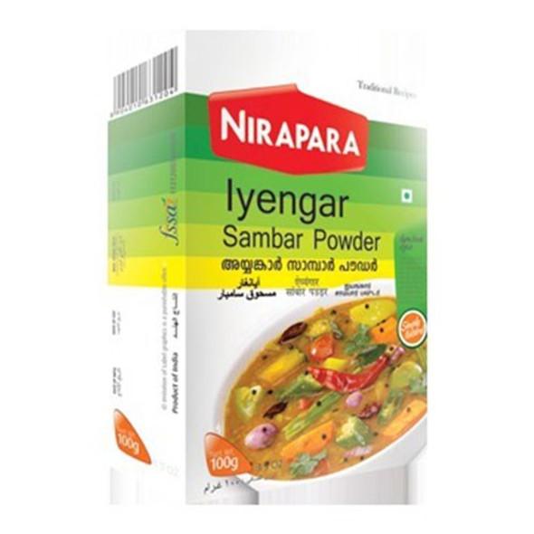 Nirapara Iyengar Sambar Powder 100g
