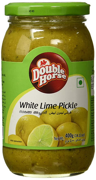 Double Horse White Lime Pickle 400g