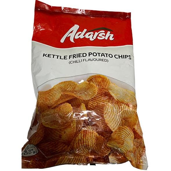 Adarsh Kettle Fried Potato Chips 170g