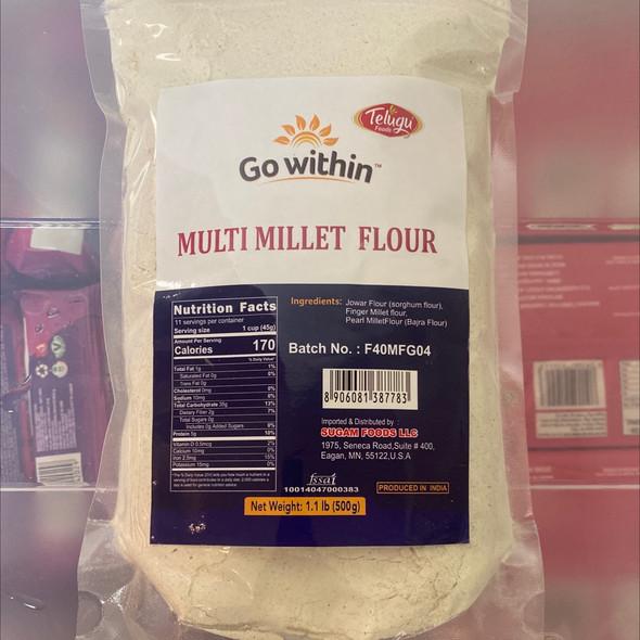 Telugu Multimillet Flour 500g