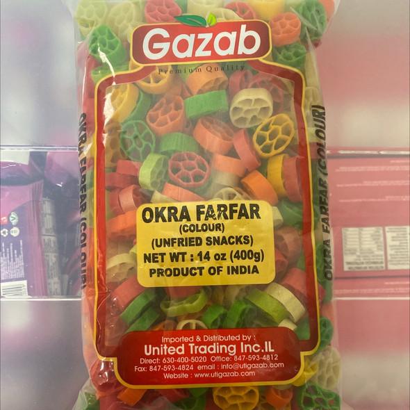 Gazab Color Fryums Okra 400g